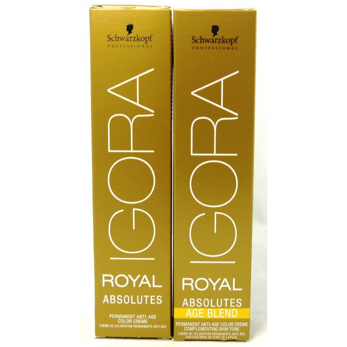 84e29f959f ... Schwarzkopf Professional IGORA Royal Absolutes /Age blend 60 ml  Ausverkauf SALE